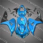 Injection Molded Fit CBR1000RR 06 07 Light Blue Fairing 16N34, Free Shipping!
