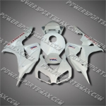 Injection Molded Fit CBR1000RR 06 07 All White Fairing ZN929