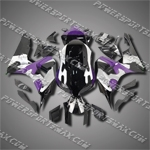 Injection Molded Fit CBR1000RR 06 07 Purple Black Fairing ZN927, Free Shipping!