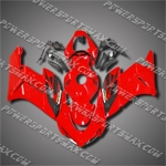 Injection Molded Fit CBR1000RR 04 05 Black Wing Red Fairing 14N26