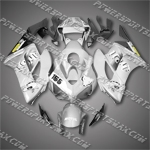 Injection Molded Fit CBR1000RR 04 05 155 Silver Grey Fairing 14N36