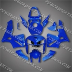 Injection Molded Fit CBR600RR 05 06 All DK. Blue Fairing ZN130