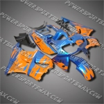 For CBR900RR 94-97-handcraft Orange Blue ABS Fairing 94N34-handcraft