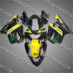 For CBR600F4 99 00 Yellow Fairing 60N11