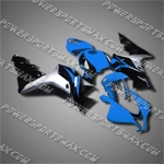 Injection Molded Fit CBR600RR 07 08 Blue Black Fairing ZN125, Free Shipping!