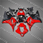 Injection Molded Fit CBR600RR 09-12 Red Black Fairing 69N15