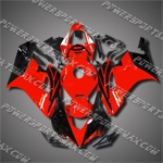 Injection Molded Fit CBR1000RR 04 05 Red Black Fairing 14N15