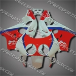 For CBR250RR MC22 90-99 Red White ABS Fairing Set ZN891, Free Shipping!