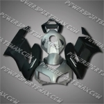 Injection Molded Fit CBR1000RR 04 05 Silver Black Fairing ZN770