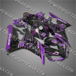 Injection Molded Fit CBR1000RR 06 07 Purple Black Fairing 16N50