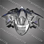 Fit CBR1100XX Blackbird 96-07 Blue Silver ABS Fairing ZN897, Free Shipping!