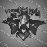 Fit CBR1000RR 08-11 All Flat Black ABS Fairing 18N49