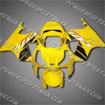 For RC51 VTR1000SP1 00-06 Yellow ABS Fairing-handcraft