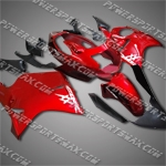 Fit CBR1100XX Blackbird 96-07 Red Black ABS Fairing 11N15