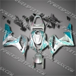 Injection Molded Fit CBR600RR 07 08 Blue Flames Fairing ZH5734
