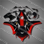 Fit CBR1000RR 08-11 Red Black ABS Fairing ZH161