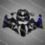 For CBR900RR 89-93 Blue Flames Fairing LH93G-handcraft