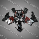 For CBR900RR 89-93 Red Black ABS Fairing 99N21-handcraft