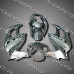 For VTR1000F 97-05 Silver ABS Fairing ZN966-handcraft