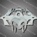 Injection Molded Fit CBR600RR 05 06 All White Fairing ZN664, Free Shipping!