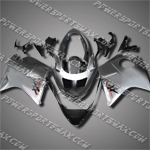 Fit CBR1100XX Blackbird 96-07 Grey ABS Fairing 11N19, Free Shipping!