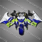 For CBR900RR 94-97 Green Blue ABS Fairing 94N33-handcraft