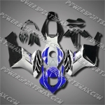 Injection Molded Fit CBR1000RR 04 05 Blue Black Fairing ZN153