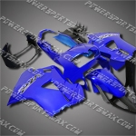 For VFR800RR Interceptor 98-01 Blue Black ABS Fairing Set 88N29-handcraft