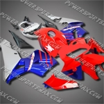 Injection Molded Fit CBR600RR 05 06 Red Blue Fairing 65N22