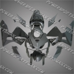 Injection Molded Fit CBR600RR 05 06 Black Skull Grey Fairing ZN703