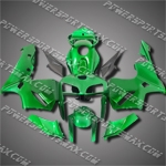 Injection Molded Fit CBR600RR 05 06 Green Black Fairing ZN833, Free Shipping!