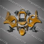 For CBR954RR 02 03 Gold Black ABS Fairing ZH777