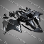 Fit CBR1100XX Blackbird 96-07 Flat Black Fairing 11N10