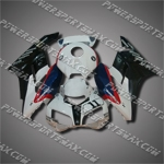 Injection Molded Fit CBR1000RR 04 05 Black White Fairing ZN566, Free Shipping!
