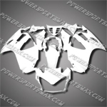 For ST1300 Pan-European 02-08 White Fairing 13N09-handcraft