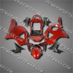 For CBR954RR 02 03 Red Black ABS Fairing ZH681