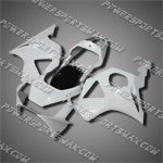 For CBR954RR 02 03 All White ABS Fairing ZH779