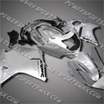 Fit CBR1100XX Blackbird 96-07 All Silver ABS Fairing 11N30
