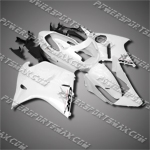 Fit CBR1100XX Blackbird 96-07 White ABS Fairing 11N09