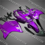 Fit CBR1100XX Blackbird 96-07 Purple Black ABS Fairing 11N26
