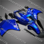 Fit CBR1100XX Blackbird 96-07 Blue ABS Fairing 11N30