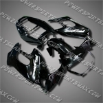 For VTR1000F 97-05 Glossy Black ABS Fairing ZN969-handcraft