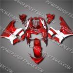 For CBR900RR 94-97 Red White ABS Fairing 99N32-handcraft