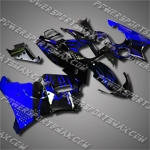For CBR900RR 94-97 Blue Flames ABS Fairing 94N03-handcraft