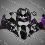 For CBR900RR 89-93 Purple Flames Fairing LH93J-handcraft