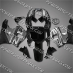 For CBR900RR 89-93 Black Grey Fairing LH93F-handcraft