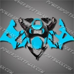 For CBR929RR 00 01 L-Blue Black ABS Fairing ZH618