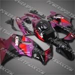 Fit CBR600F2 91-94 92 93 Purple Black ABS Fairing 21N52-handcraft