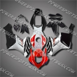 Injection Molded Fit CBR1000RR 04 05 Red Black Fairing ZN155, Free Shipping!