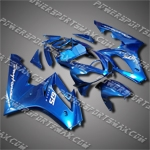 ABS Fairing For 06-08 Triumph Daytona 675 Triple Blue-handcraft